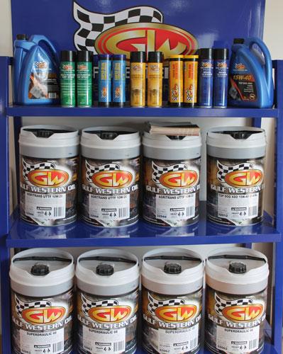SHR gulf western oils